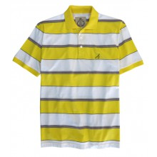 RICO1J POLO MC JAUNE M05D01