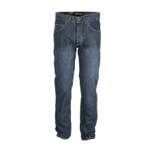 AZ002 JEANS 5 POCHES BOUT DBLE STONE USED LG86