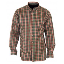 CH2024 CHEMISE MANCHES LONGUES MARINE/ROUGE/VERT