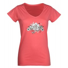 DALLAS1 TEE SHIRT  COL V CORAIL