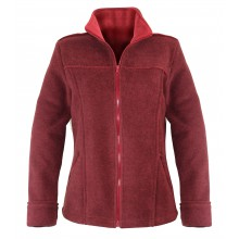 RIGA1B VESTE BORDEAUX/ROUGE