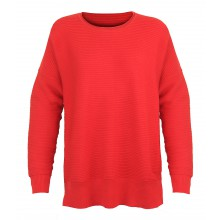 PULF2007C PULL UNI COL ROND ROUGE